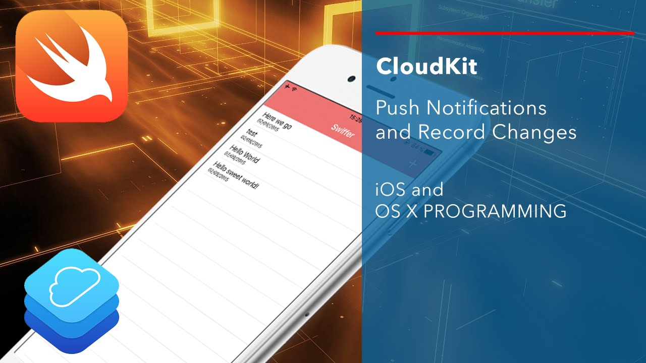 Create an app like twitter push notifications with cloudkit youtube ccuart Choice Image