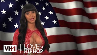 Cardi B Runs For President & Tells ISIS To Suck A D*ck | Love & Hip Hop