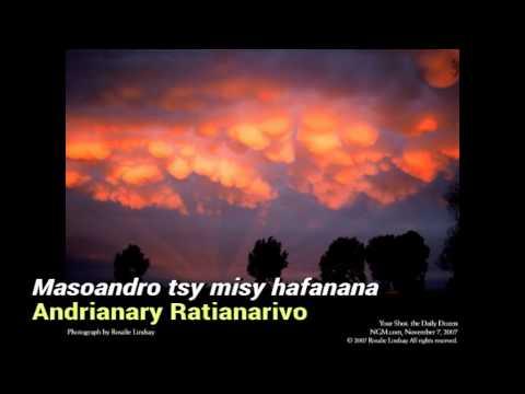 Andrianary Ratianarivo Masoandro tsy misy hafanana