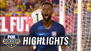 Kellyn Acosta nets equalizer vs. Colombia | 2018 International Friendly Highlights