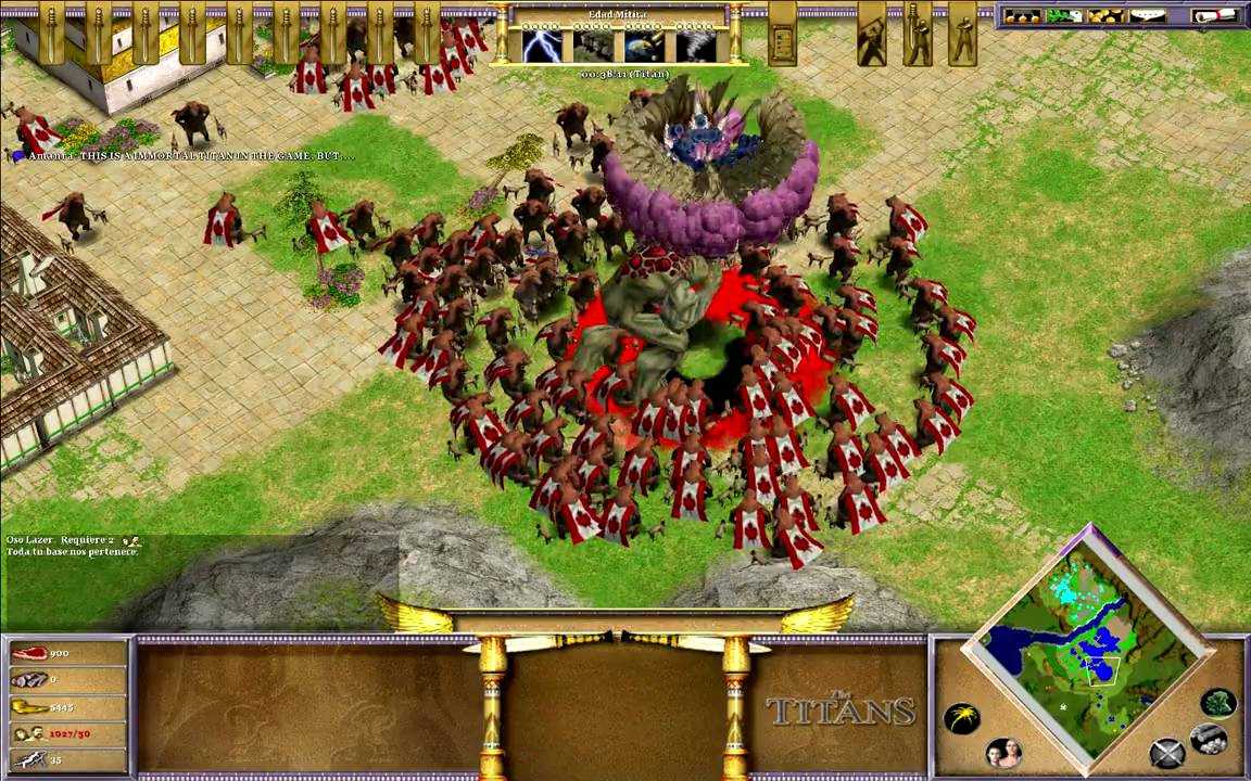 Much like Ensemble's The Conquerors Expansion, you get quite a lot of stuff with The Titans, Age of Mythology's only official follow-up expansion.