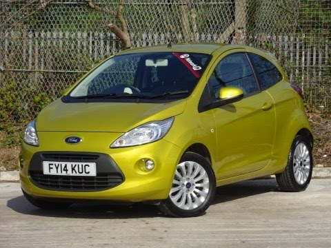 Ford Ka  Dr Start Stop In Yellow