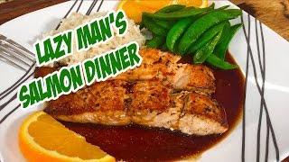 Lazy Mans Salmon Dinner