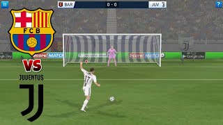 Barcelona VS Juventus ● Penalty Shootout ● Dream League Soccer 2018
