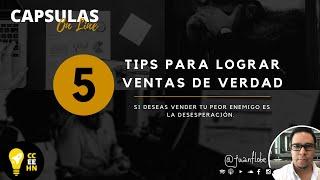 5 tips para lograr ventas
