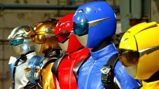 Go-Busters vs Kyoryuger: Go-Busters Henshin and Roll Call (Sub Español)