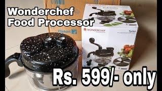 Wonderchef 6 In 1 Dual Speed Food Processor Review (Rs 599/- On Flipkart)