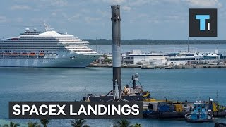 Watch All SpaceX Landings In 60 Seconds