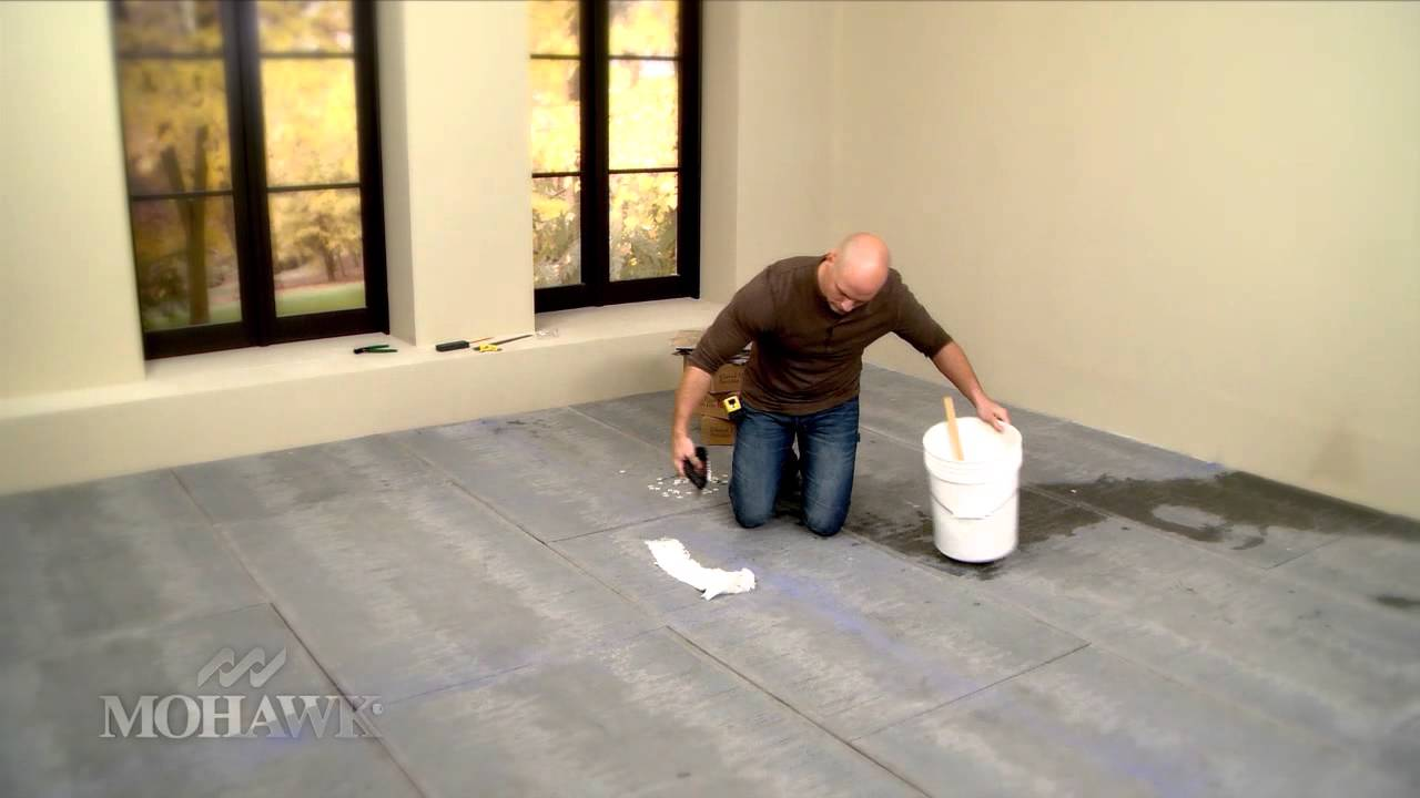 mohawk ceramic tile installation with chip wade