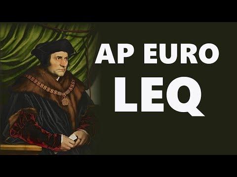 The AP Euro LEQ (Long Essay Question)