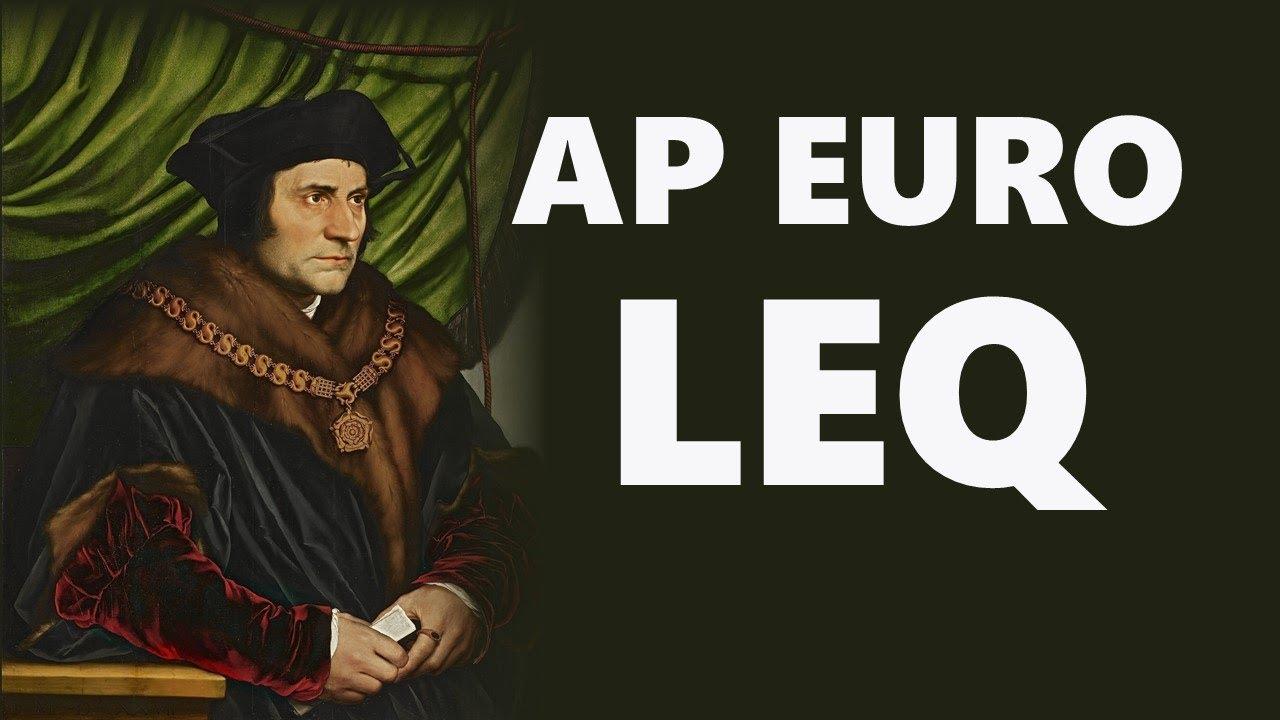 Ap euro essays
