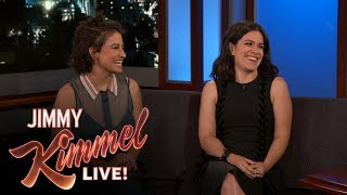 Abbi Jacobson & Ilana Glazer on Broad City