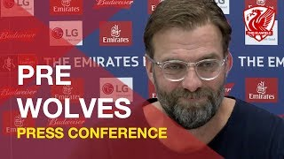 FA Cup: Wolves vs. Liverpool | Jurgen Klopp Press Conference