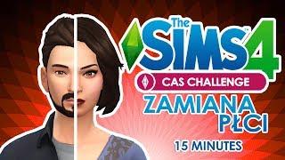 The Sims 4 PL   CAS ZAMIANA PŁCI + 15 Minutes Challenge w/ Undecided,  Tomek