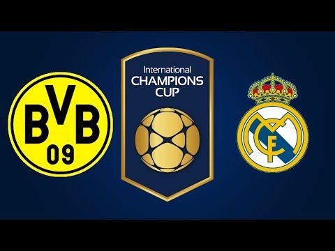 Borussia Dortmund vs Real Madrid (PFA ICC Semi-Finals)