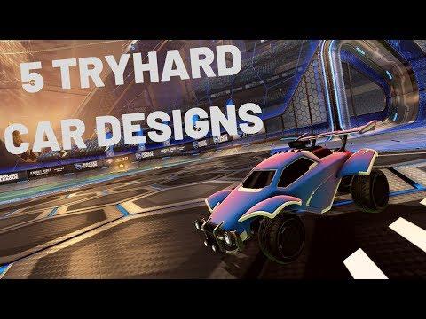 5 Tryhard Car Designs In Rocket League