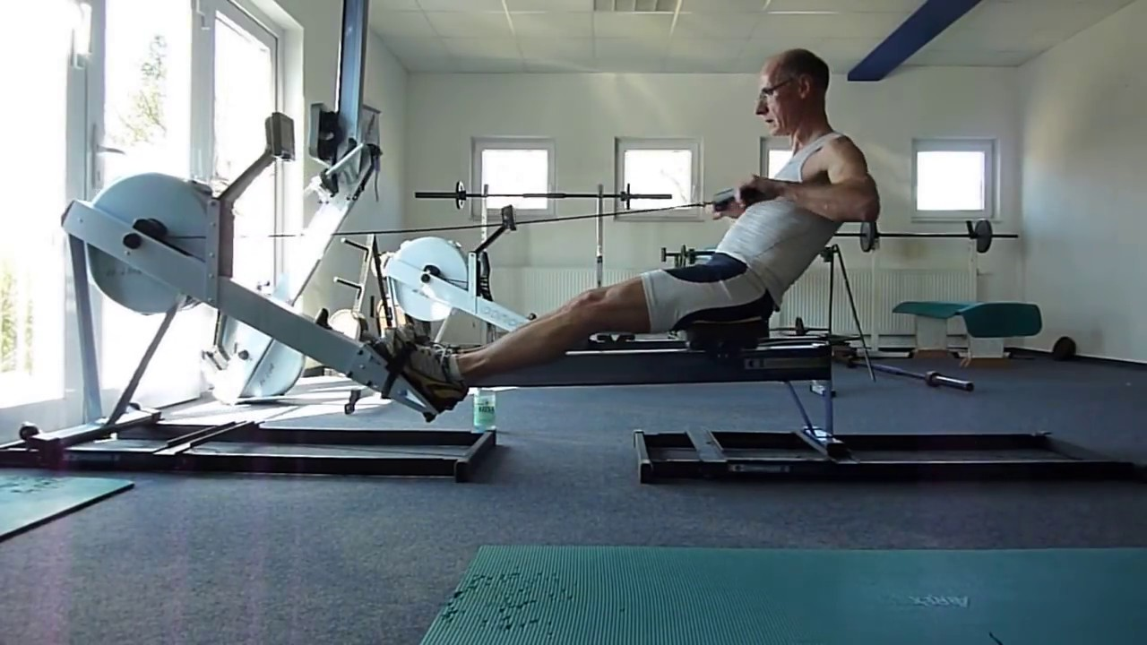 Concept 2 Rowing Machine >> Slides Rowing Concept 2 - YouTube