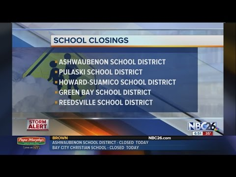 Update On School Closings