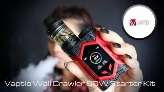 Vaptio Wall Crawler 80W Starter Kit Review and Setup