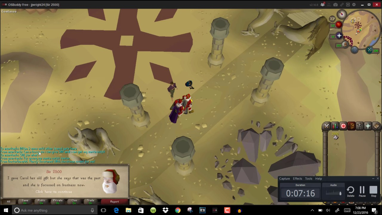 2016 Old School RuneScape Christmas Event Guide! - YouTube