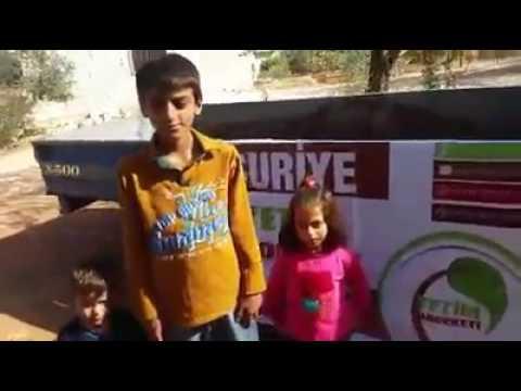 Suriye yetim destek projemiz