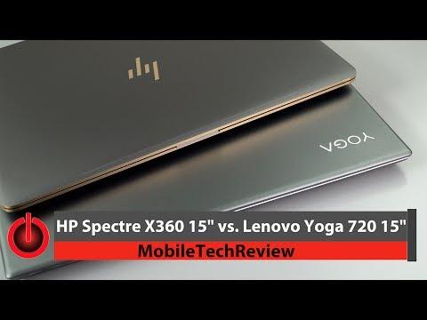 "HP Spectre x360 15"" vs  Lenovo Yoga 720 15"" Comparison Smackdown"