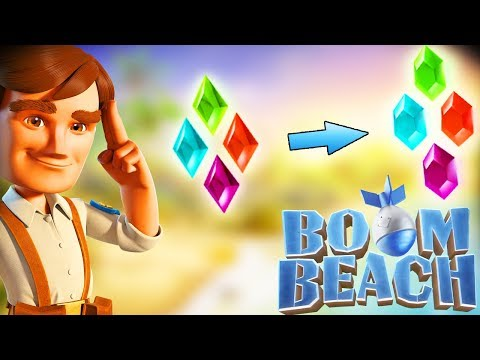 CONVERTING 4000+ SHARDS TO CRYSTALS IN BOOM BEACH!