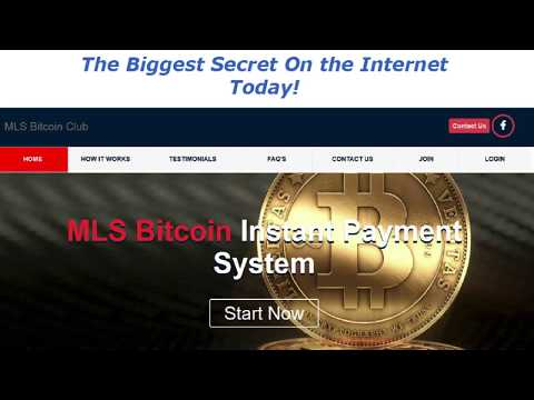 How To Earn Bitcoin Daily with MLS Bitcoin Instant Payment