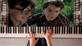 """Последняя поэма. На пианино. Из кинофильма """"Вам и не снилось""""."""