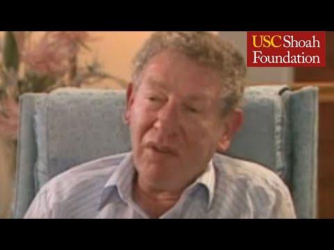 Jewish Survivor Gunter Loewenstein Testimony