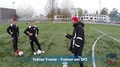 Torschuss Training am Deutschen Fußball Internat