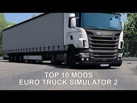 Top 10 Mods for Euro Truck Simulator 2 (1.31) - June 2018