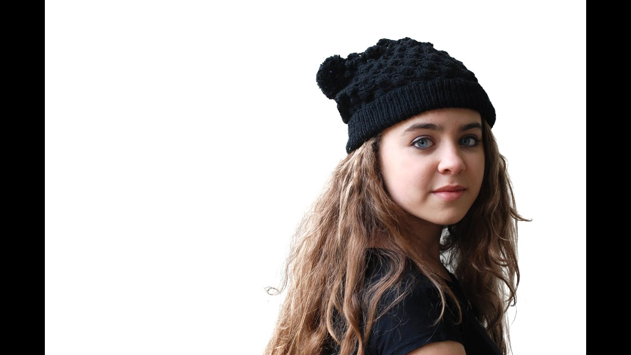 4463453f31b PINEAPPLE STITCH BEANIE - Crocheted Lace Bobble Beanie Hat - YouTube