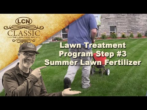 Lawn Treatment Program Step #3 - Summer Lawn Fertilizer