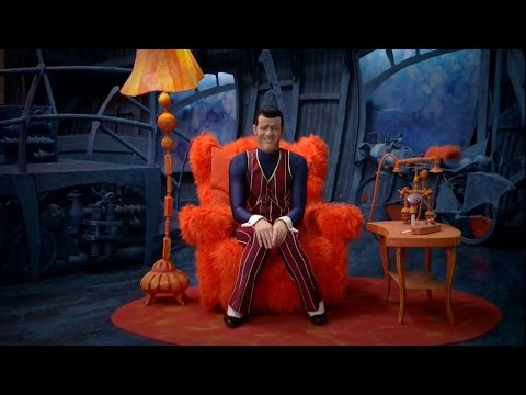 We Are Number One but every original one is replaced with an entire episode of Lazytown