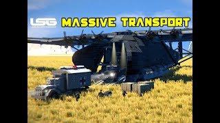 Massive Transport Aircraft Messerschmitt 323 - Space Engineers