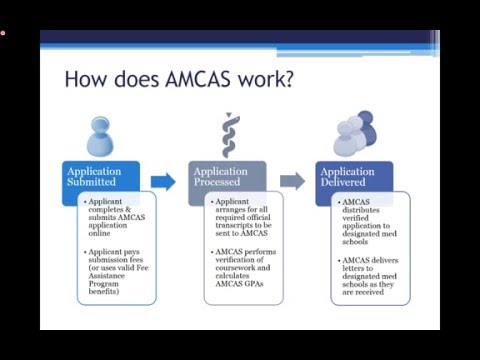 coursework section amcas
