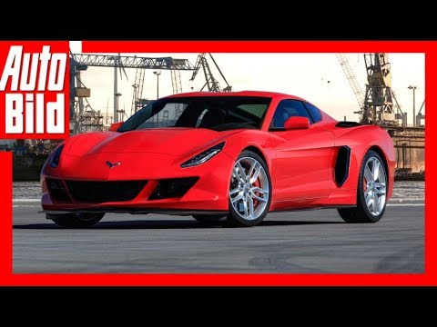 2019 Mid Engine Corvette >> Zukunftsaussicht: Corvette C8 (2019) Details/Erlkärung - YouTube