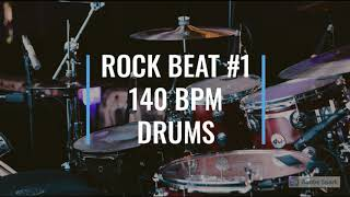 Rock Beat #1 - 140 BPM - Studio Groove