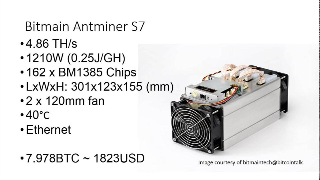 bitcoin antminer s7 и s5