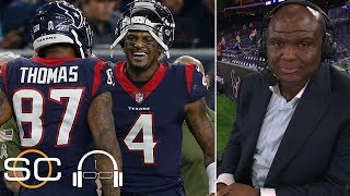 Booger McFarland 'wouldn't want to play this Texans team' come postseason | SC with SVP