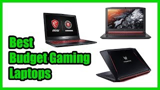 ▶️The Best Budget Gaming Laptop in 2018 | Top 5 Best Gaming Laptops to Buy in 2018