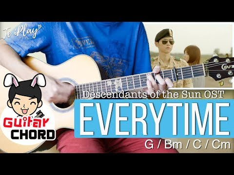 Everytime - CHEN(첸)XPunch(펀치) Easy Guitar Cover | Te iPLAY