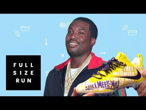 Free Meek Mill Cleats Customized for NFL Championship Sunday | Full Size Run streaming vf