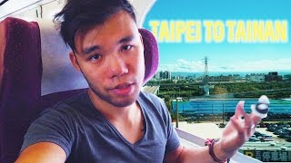 Taking the High Speed Rail (Business Class) Tainan Travel | VLOG 28
