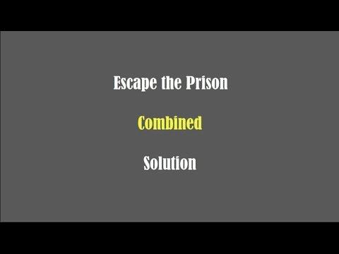 Escape the Prison  Combined  Solution Walkthrough  Addicting Games