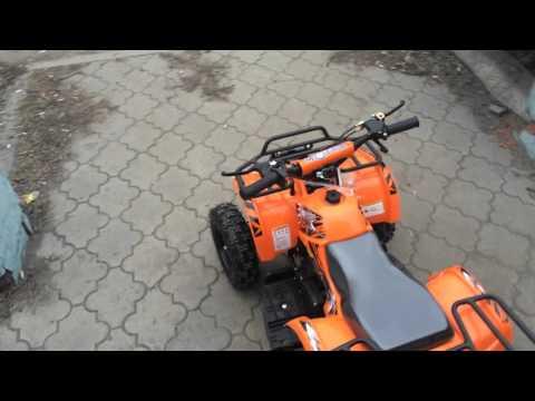 Квадроцикл детский бензиновый MOTAX ATV Х-16 (Обзор)