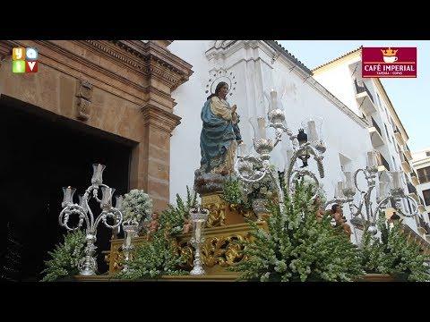 La Inmaculada procesiona de nuevo por las calles de Algeciras