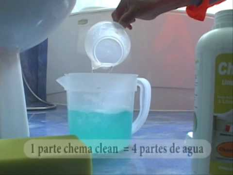 Chema clean limpiador para porcelanatos youtube for Productos para limpiar marmol