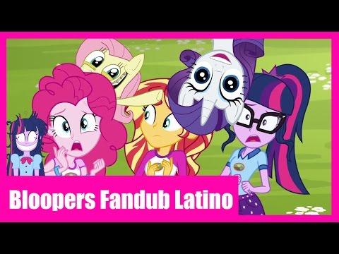 Clips Legend of Everfree - Bloopers [Fandub Latino]
